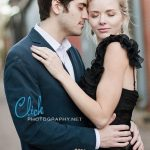 Colorado Springs engagement portraits downtown