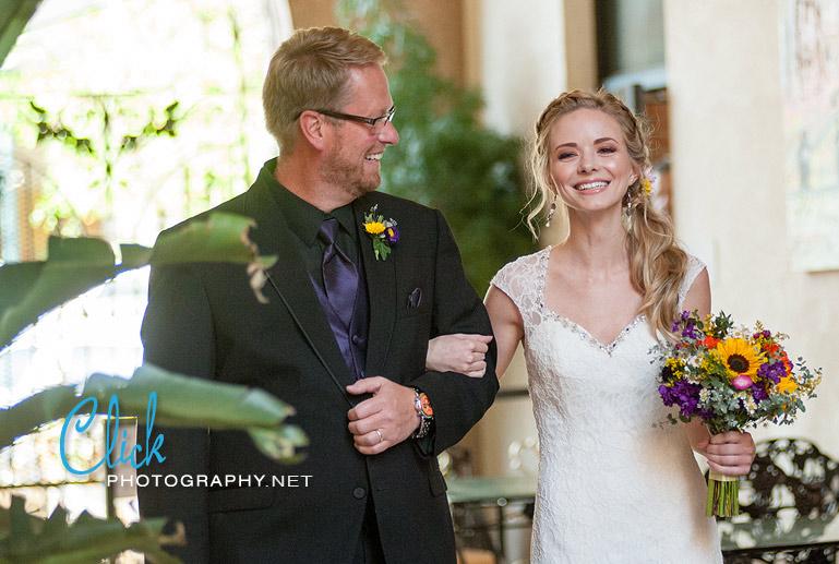 Mining Exchange wedding downtown Colorado Springs
