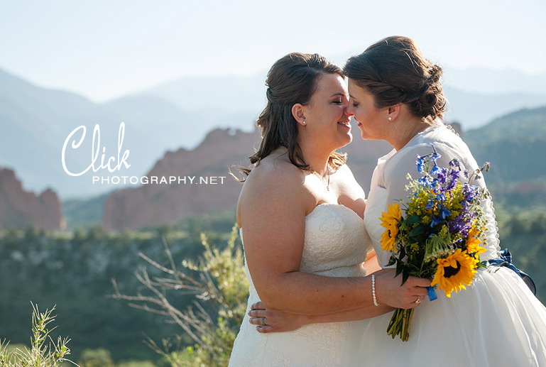 Colorado Springs gay friendly wedding photographer Tamera Goldsmith (www.clickphotography.net).