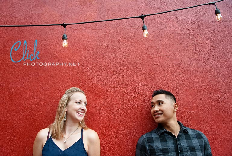Old Colorado City engagement portraits