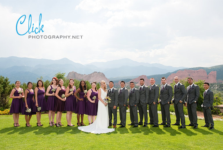 Colorado Springs wedding photographer Tamera Goldsmith (www.clickphotography.net).