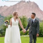 Garden of the Gods Club wedding pictures