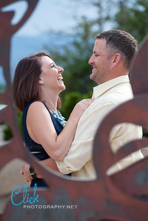 Colorado Springs engagement portraits by Tamera L. Goldsmith (www.clickphotography.net).