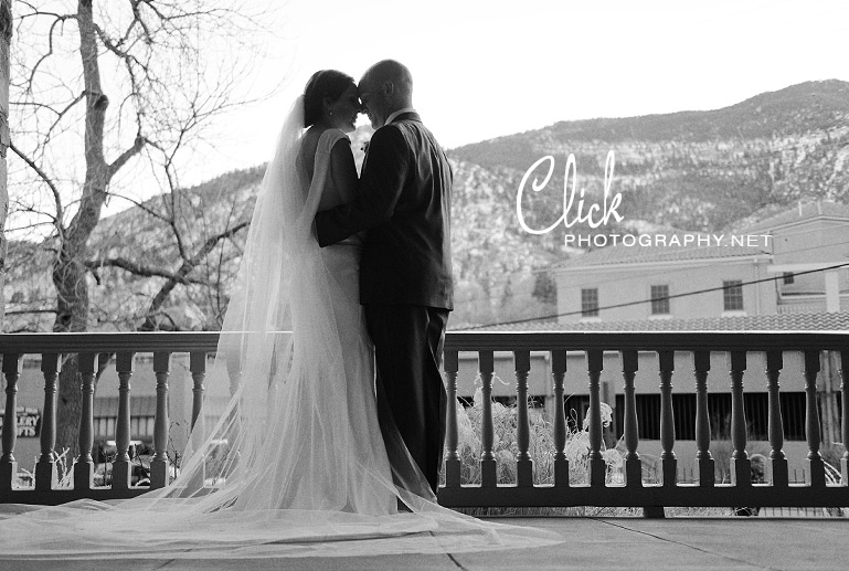 Cliff House wedding Colorado
