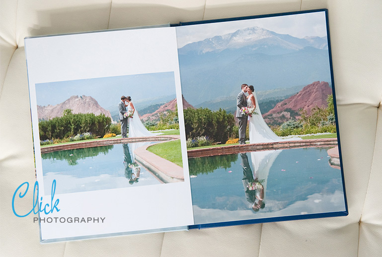 Garden of the Gods Club wedding album
