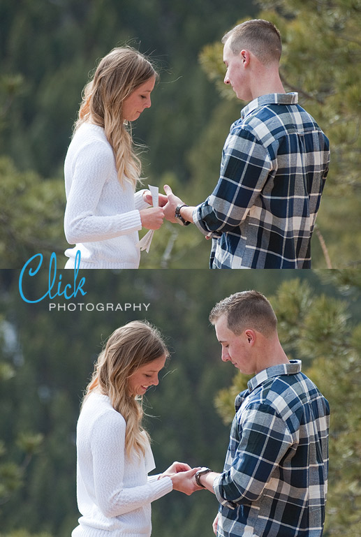 Colorado elopement pictures