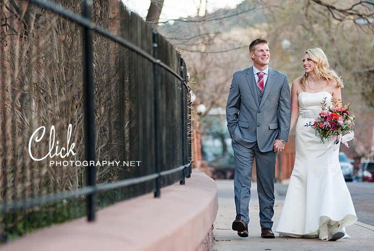 Manitou Springs wedding photography at the Cliff House