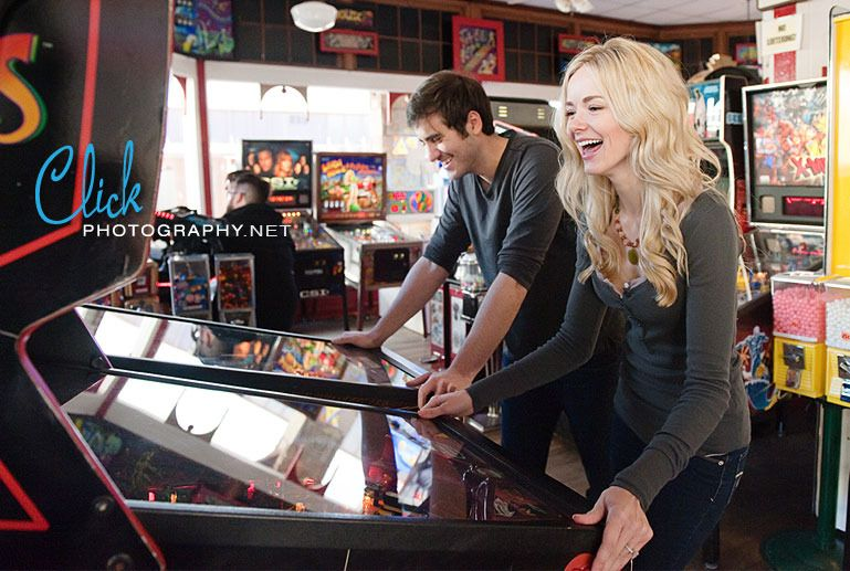 Manitou Arcade engagement pictures