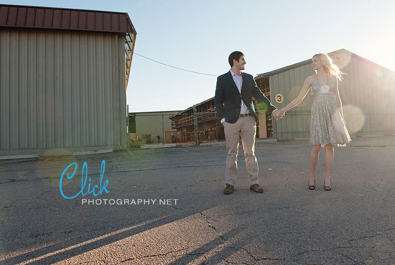 engagement portraits in Colorado Springs downtown