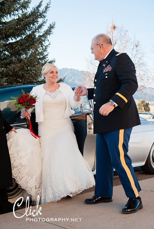 military wedding Colorado Springs Fort Carson