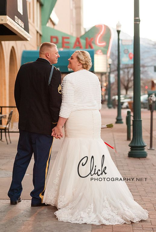 Mining Exchange wedding downtown Colorado Springs