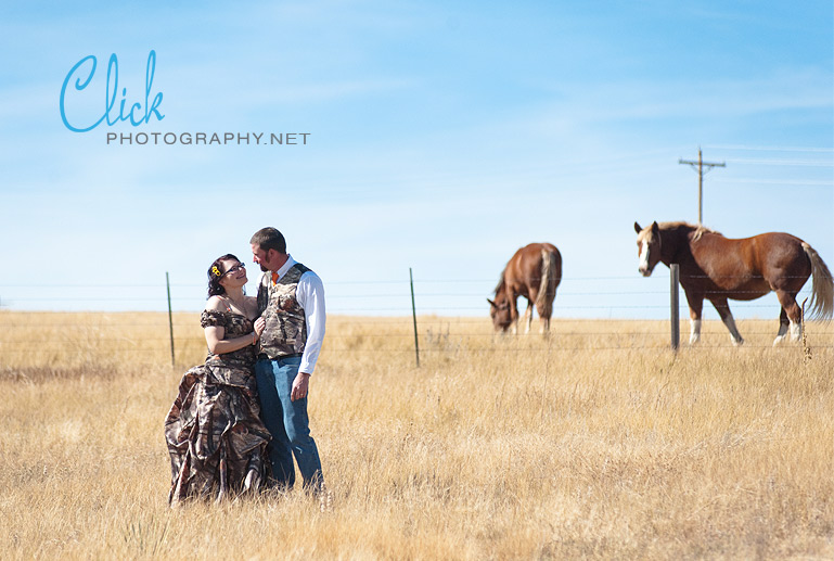 barn wedding on a horse ranch