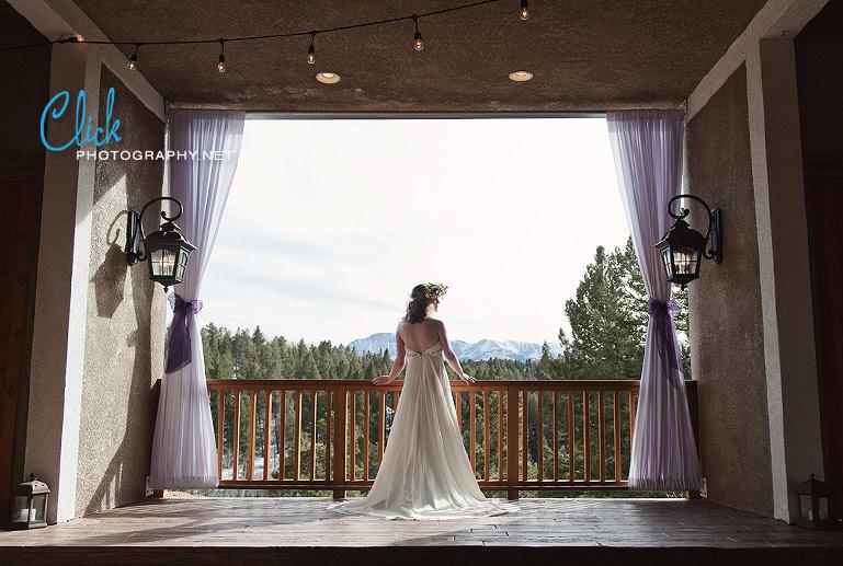 Edgewood Inn wedding Woodland Park