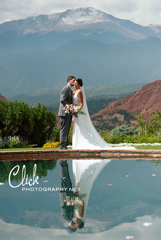 Garden of the Gods Club wedding photography