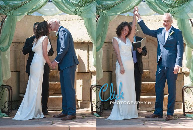 Hillside Gardens wedding Colorado Springs