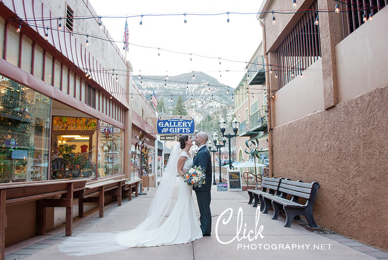 Cliff House wedding Manitou Springs