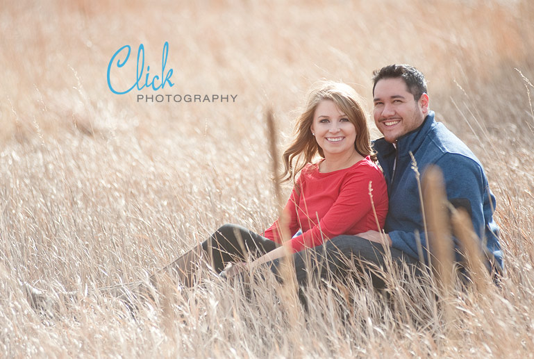 Ute Valley Park engagement portraits
