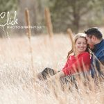 Ute Valley Park engagement portraits Colorado Springs