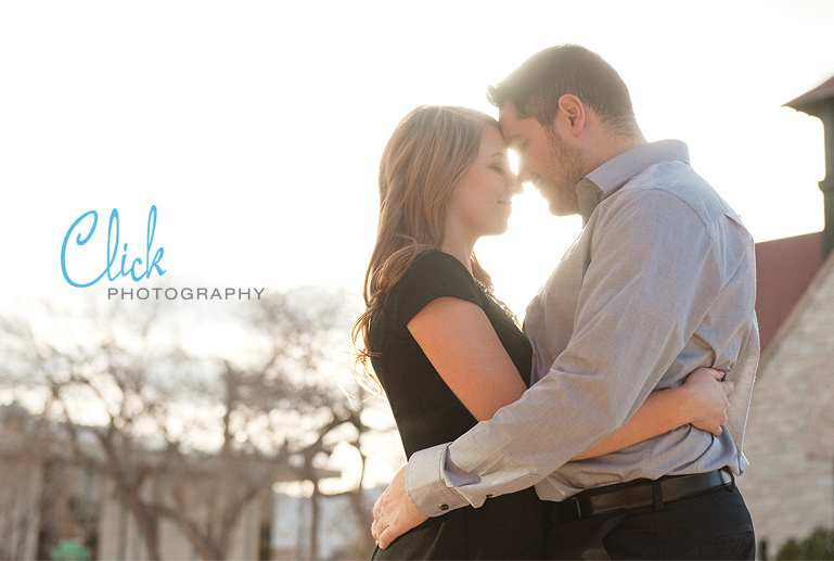 downtown Colorado Springs engagement pictures