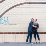 Belmar Park engagement portraits