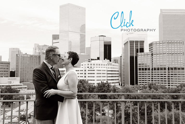 downtown Denver wedding