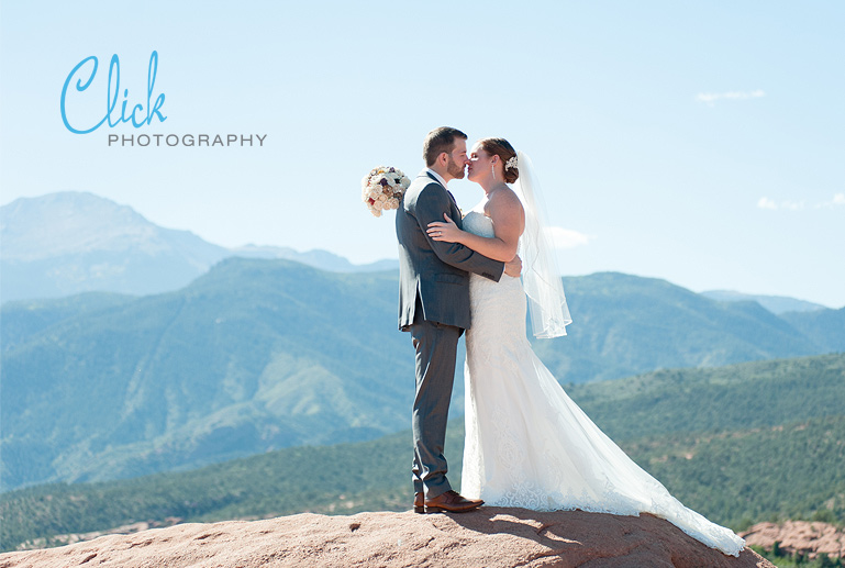 Garden of the Gods wedding pictures