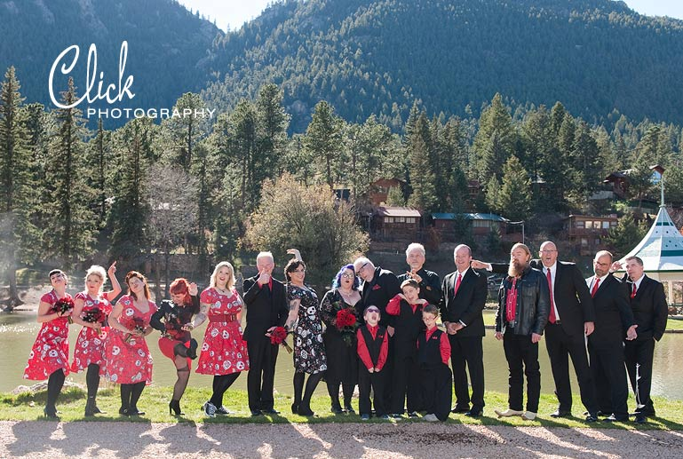 rock and roll wedding Colorado Springs