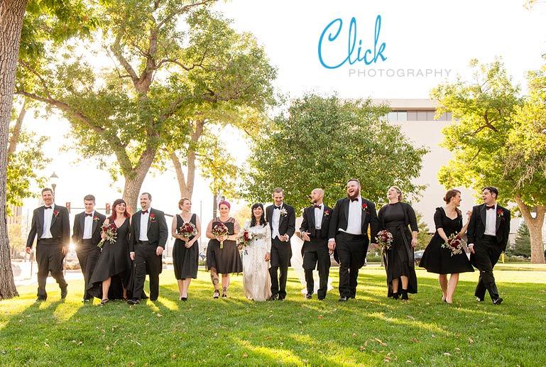downtown Colorado Springs wedding