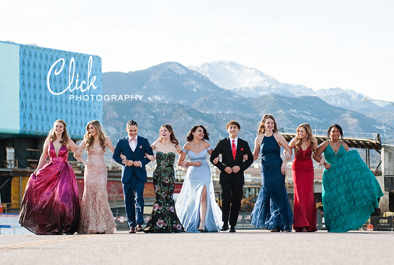 Colorado Springs senior portraits