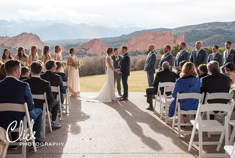 Garden of the Gods Club wedding