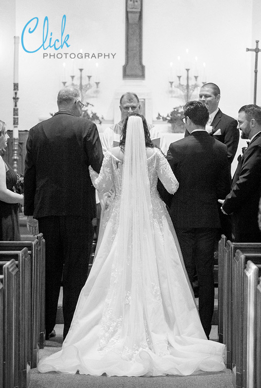 wedding at Holy Rosary in Cascade, Colorado