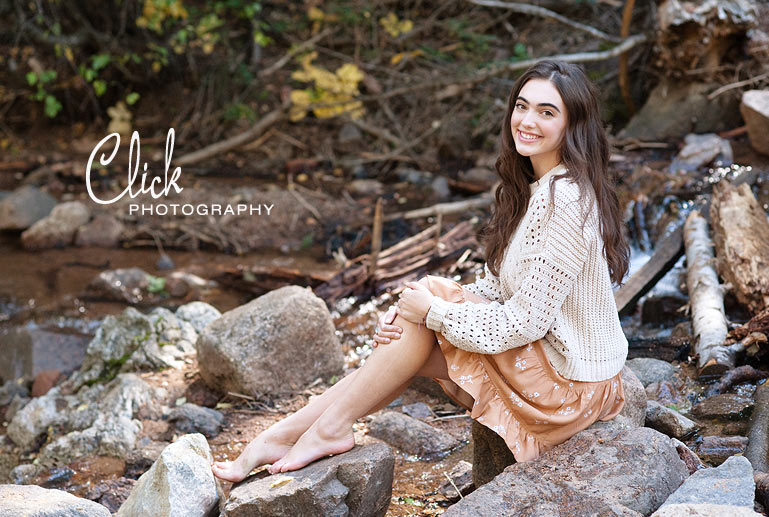 Colorado Springs senior portraits in Cheyenne Canon