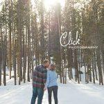 Rocky Mountain National Park engagement portraits