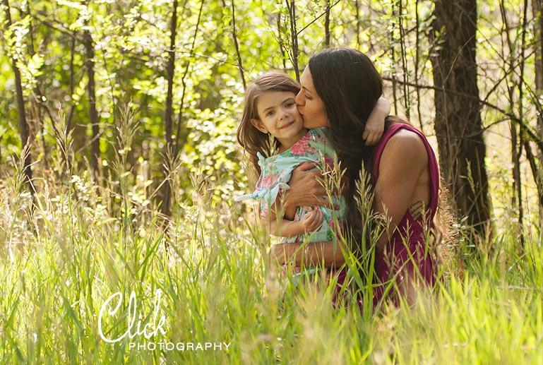 Colorado Springs family portraits at Sonderman Park