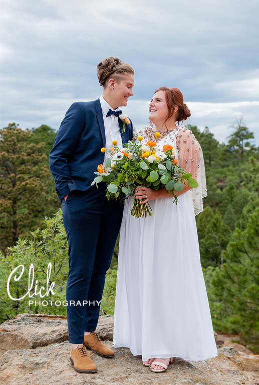 lesbian wedding Colorado Springs