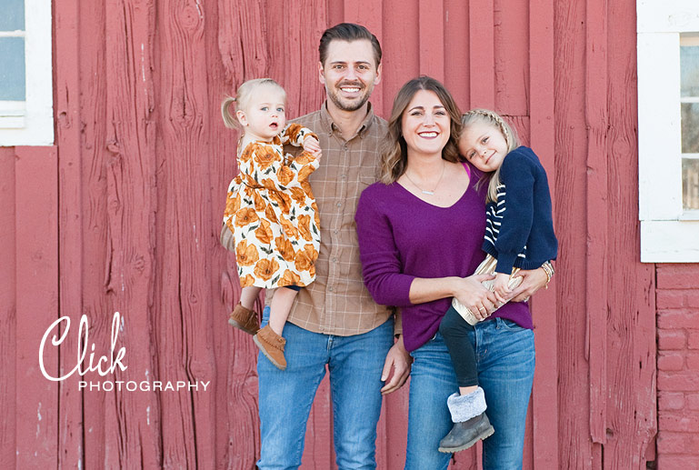 family portraits at 17 Mile House Farm