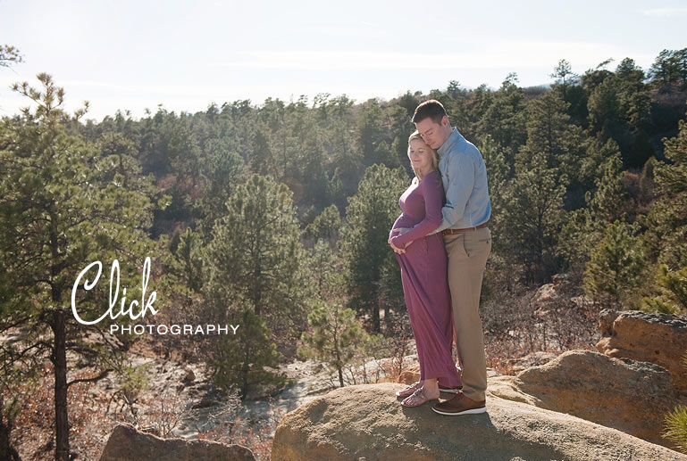 maternity portraits Palmer Park Colorado Springs