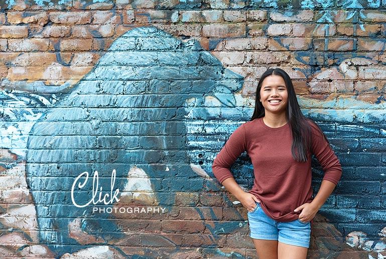 Mia's senior pictures in Old Colorado City