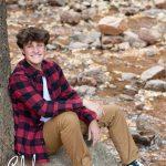 senior pics in Cheyenne Canon Colorado Springs