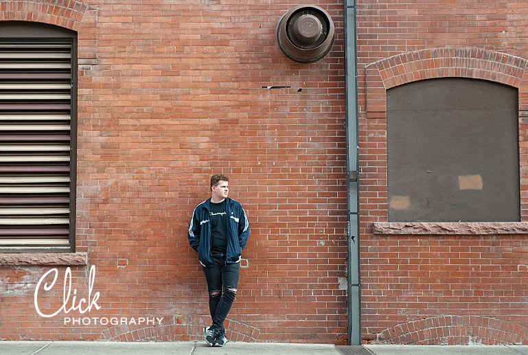 Old Colorado City senior pics urban style