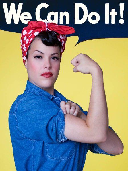 Colorado Springs pinups Rosie the Riveter