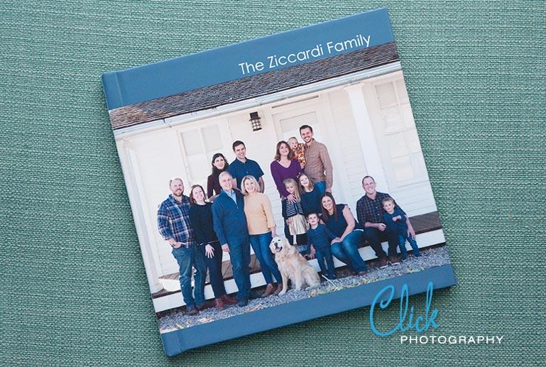 multigenerational family portraits album